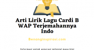 Arti Lirik Lagu Cardi B WAP Terjemahannya Indo