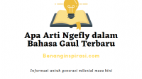 Apa Arti Ngefly dalam Bahasa Gaul Terbaru