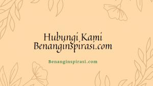 Hubungi Kami Benanginspirasi.com