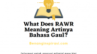 What Does RAWR Meaning Artinya Bahasa Gaul