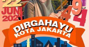 Twibbon HUT Jakarta 2021