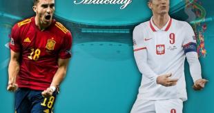 Link Siaran Langsung Spanyol vs Polandia EURO 2021