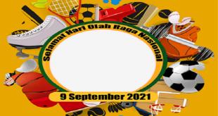 Bingkai Twibbon Hari Olahraga Nasional 2021