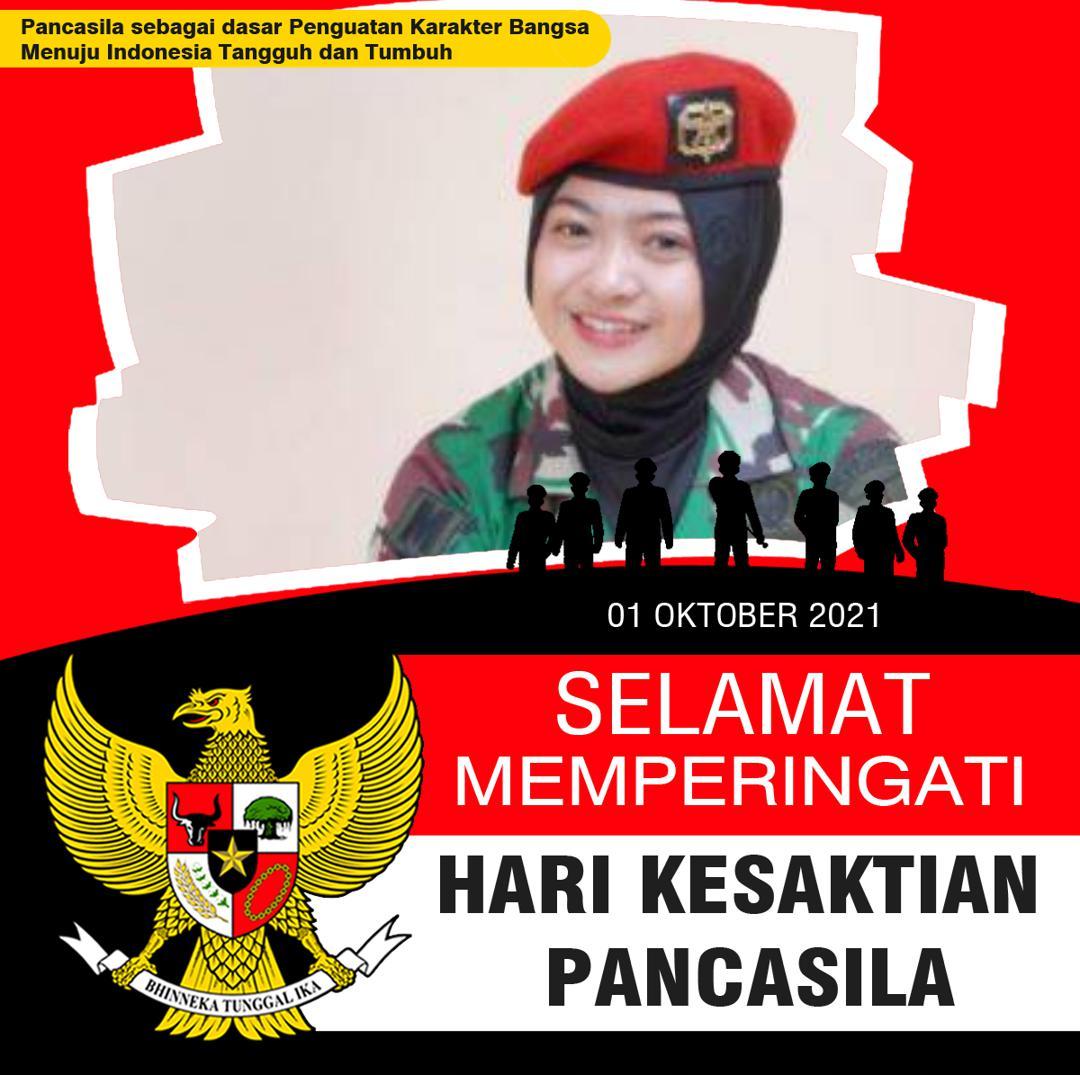 Twibbon Hari Pancasila Oktober 2021