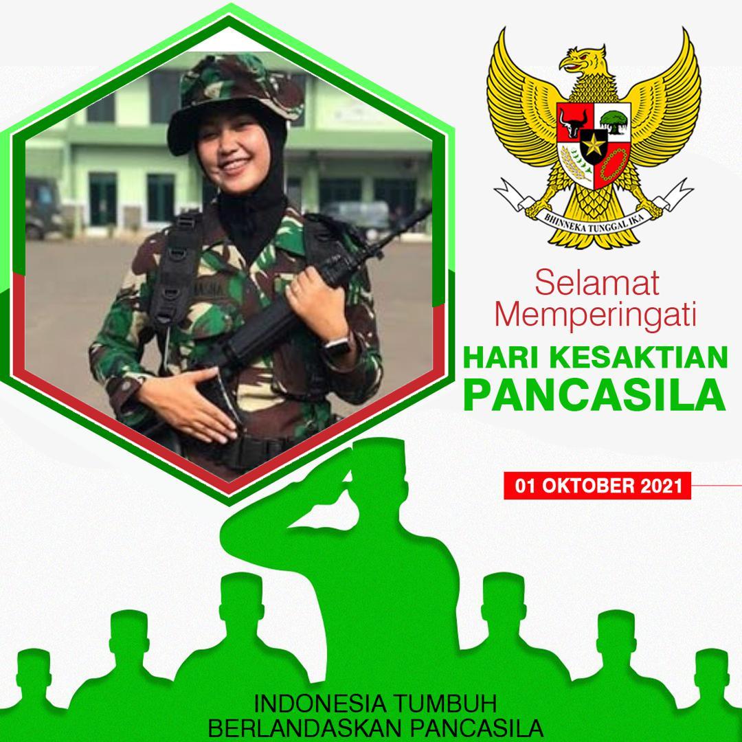 Twibbon Hari Pancasila Oktober 2021 r