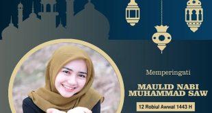 twibbon maulid nabi muhammad saw 2021